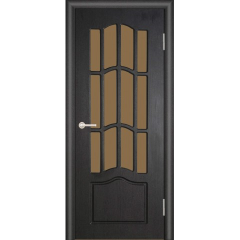 Межкомнатная Дверь (ЧФД) Ампир Стекло Бронза