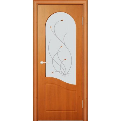 Межкомнатная Дверь (ЧФД) Анастасия Стекло Белое