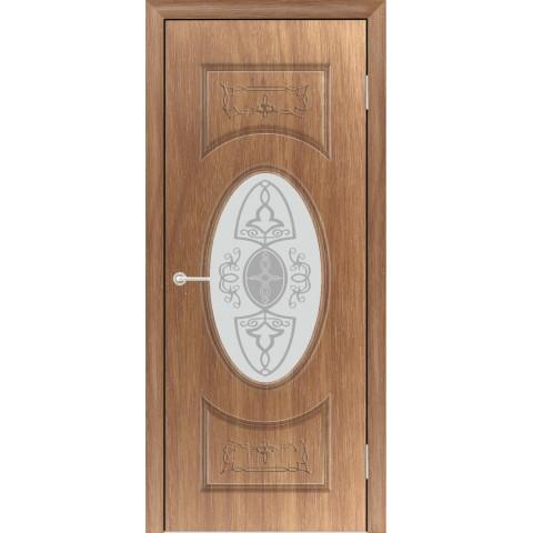 Межкомнатная Дверь (ЧФД) Гармония Стекло Белое