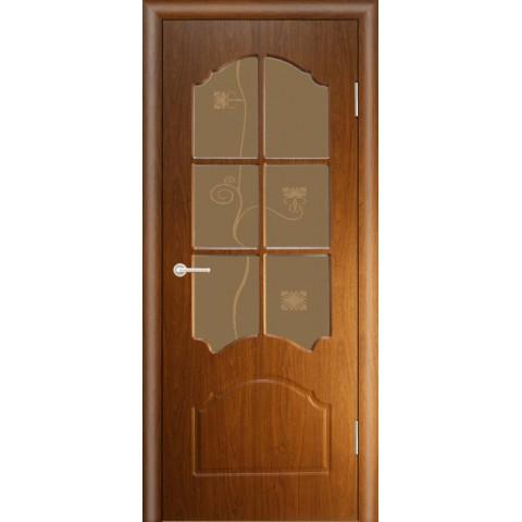 Межкомнатная Дверь (ЧФД) Кэрол Стекло Бронза