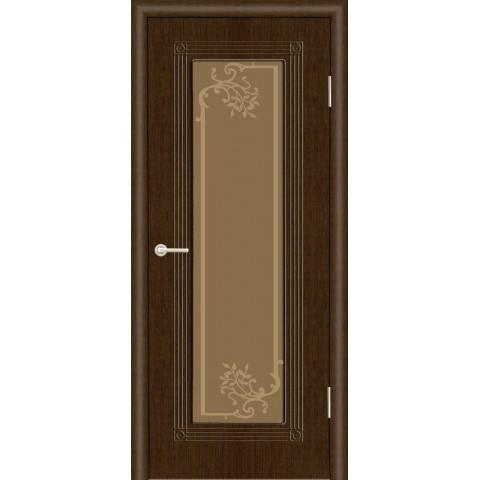 Межкомнатная Дверь (ЧФД) ПР-35 Стекло Бронза
