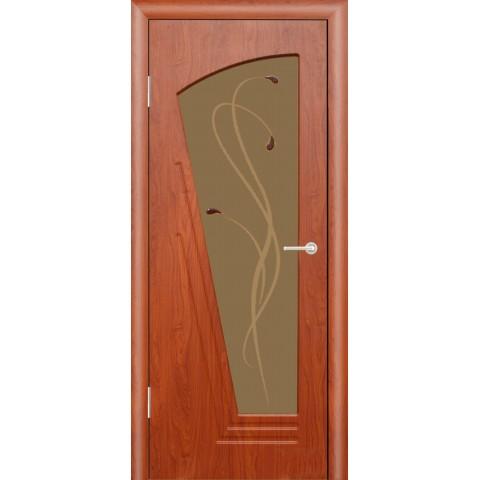 Межкомнатная Дверь (ЧФД) Парус Стекло Бронза