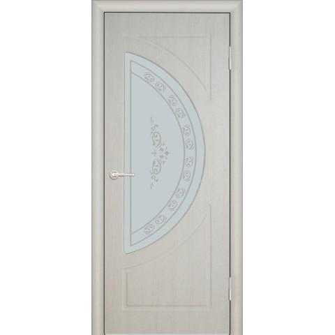 Межкомнатная Дверь (ЧФД) Сфера Стекло Белое