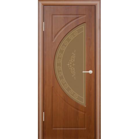 Межкомнатная Дверь (ЧФД) Сфера Стекло Бронза