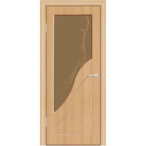 Межкомнатная Дверь (ЧФД) Жасмин Стекло Бронза
