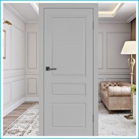 Честер ПГ - Межкомнатная Дверь Эмаль Серая