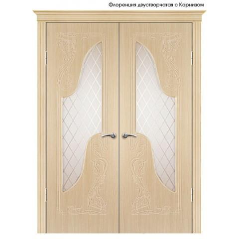 Межкомнатная Дверь Геона Флоренция остекленная