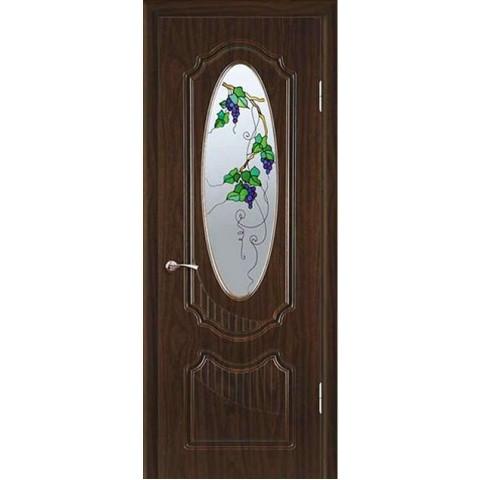 Межкомнатная Дверь Геона Венеция Витраж остекленная