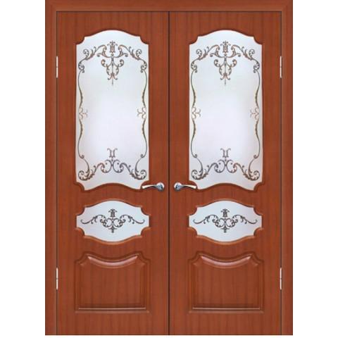 Межкомнатная Дверь Геона Виктория остекленная