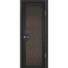 Межкомнатная Дверь Геона. Модус Остекленная Триплекс с Тканью
