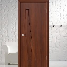 Волна (4г6) - Межкомнатная Дверь Ламинированная