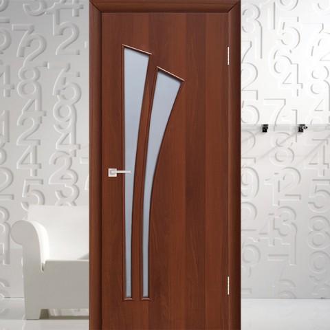 Веер (4с4) - Межкомнатная Дверь Ламинированная