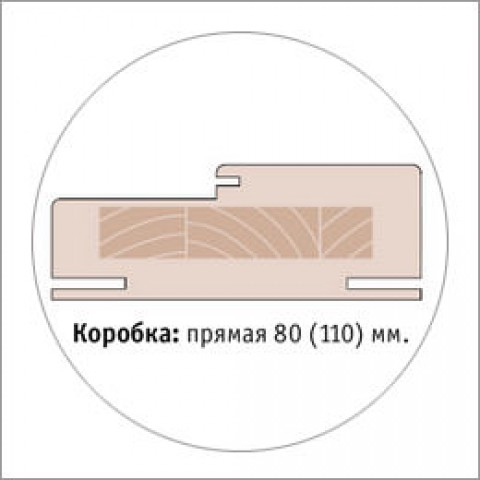 Дверная Коробка (Saluto) 80х40 (Комплект 2,5 шт.)