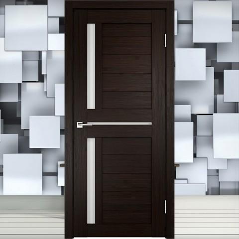 Duplex 3 Лакобель белое - Межкомнатная Дверь Velldoris (Твист)