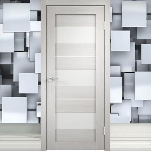 Duplex 12 Лакобель белое - Межкомнатная Дверь Velldoris