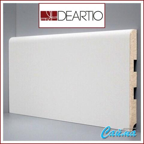 Белый плинтус МДФ Deartio U102-150 (16х150х2050)