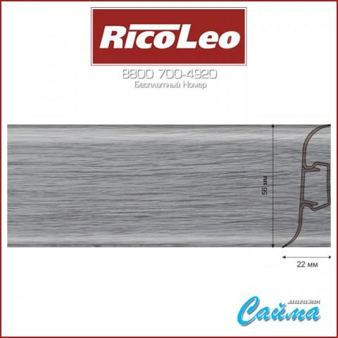 Плинтус Rico Leo - 136 Дуб Грац