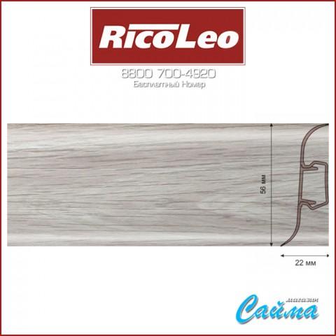 Плинтус Rico Leo - 147 Тополь Ливадия