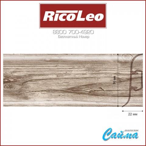 Плинтус Rico Leo - 159 Дуб Английский
