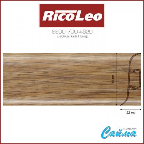 Плинтус Rico Leo - 162 Дуб Больцано