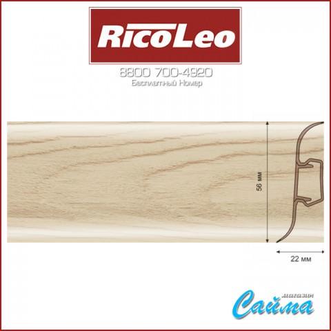 Плинтус Rico Leo - 173 Дуб Беленый
