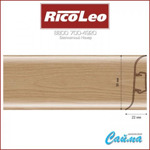 Плинтус Rico Leo - 180 Дуб Античный