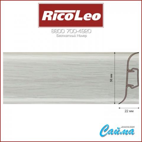Плинтус Rico Leo - 192 Дуб Альмере