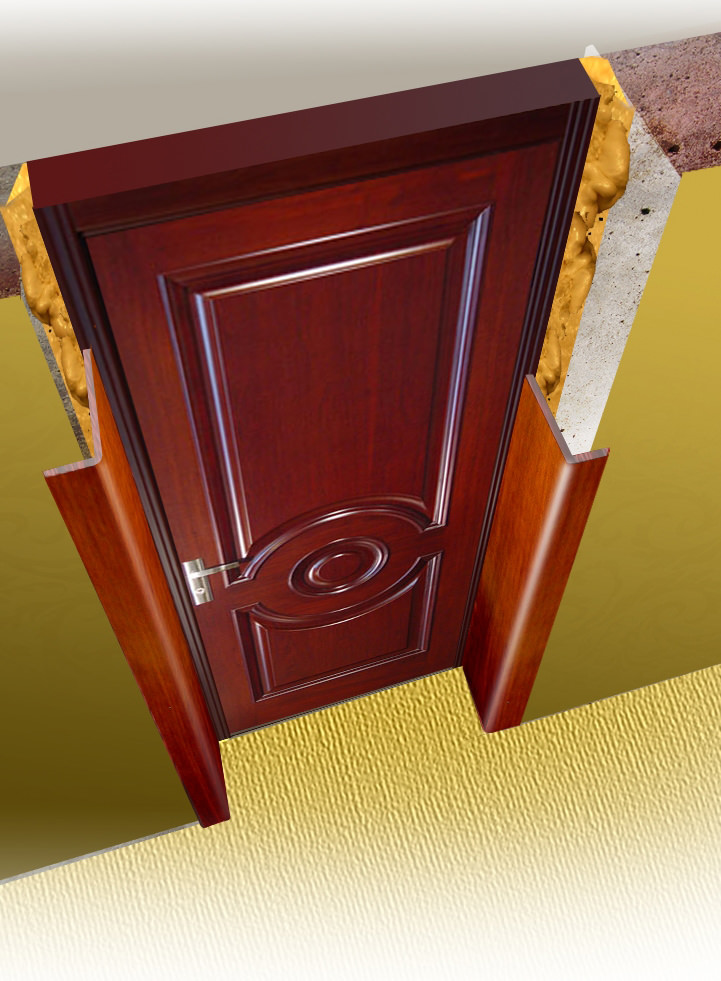 Монтаж откосов входной двери